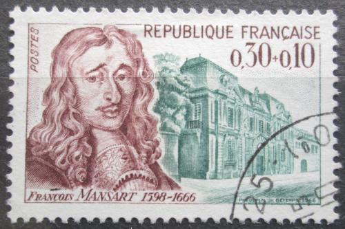 Poštovní známka Francie 1966 François Mansart, architekt Mi# 1537