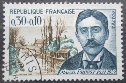 Poštovní známka Francie 1966 Marcel Proust, spisovatel Mi# 1538