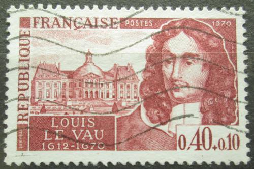 Poštovní známka Francie 1970 Louis Le Vau, architekt Mi# 1696