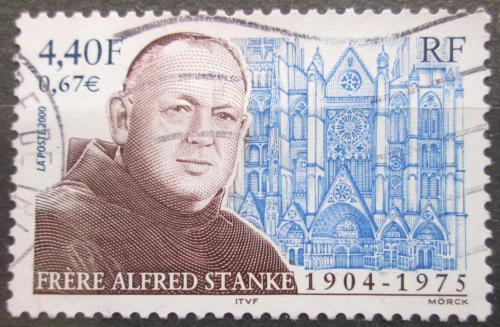 Poštovní známka Francie 2000 Alfred Stanke, františkánský knìz Mi# 3489