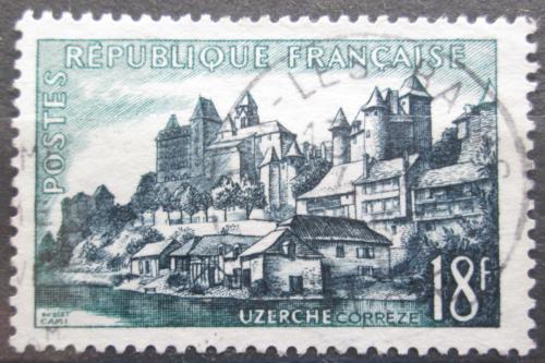 Poštovní známka Francie 1955 Uzerche Mi# 1068