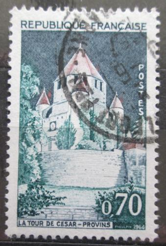 Poštovní známka Francie 1964 Tour de César v Provins Mi# 1482