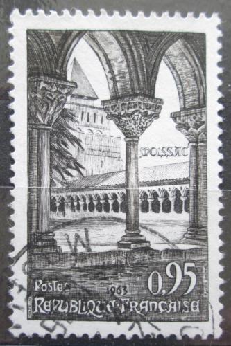 Poštovní známka Francie 1963 Opatství Moissac Mi# 1448