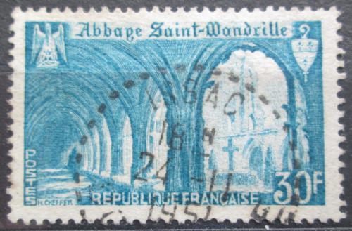 Poštovní známka Francie 1951 Opatství Saint Wandrille Mi# 906 Kat 3€