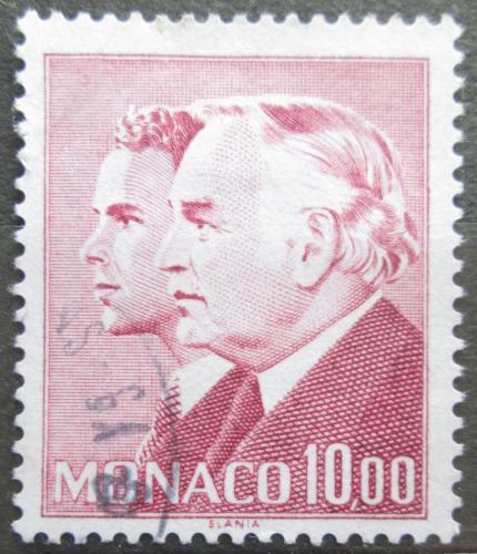 Poštovní známka Monako 1986 Kníže Rainier III. und Princ Albert Mi# 1744