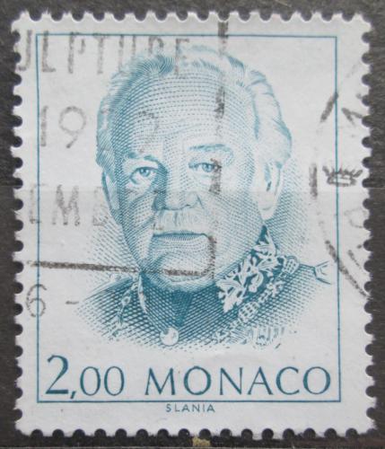 Poštovní známka Monako 1989 Kníže Rainier III. Mi# 1911