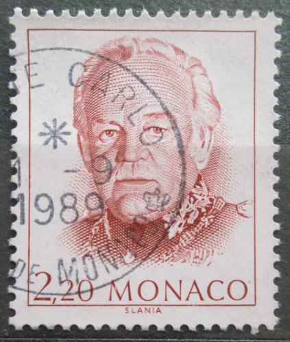 Poštovní známka Monako 1989 Kníže Rainier III. Mi# 1912