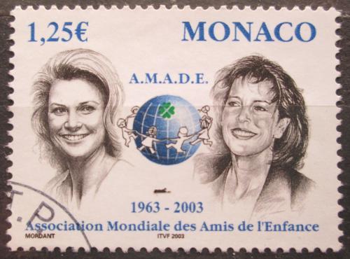 Poštovní známka Monako 2002 Knìžna Gracia Patricia a princezna Karolína Mi# 2633