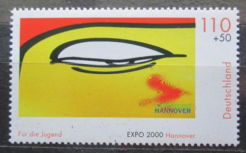 Poštovní známka Nìmecko 2000 Oko Budhy Mi# 2120