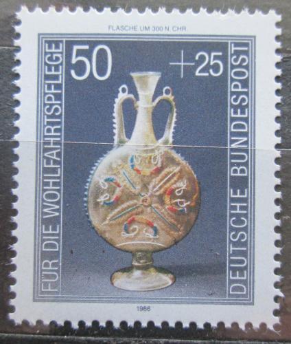 Poštovní známka Nìmecko 1986 Sklenìný džbán Mi# 1295