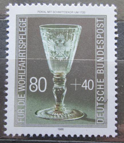 Poštovní známka Nìmecko 1986 Sklenìný pohár Mi# 1298