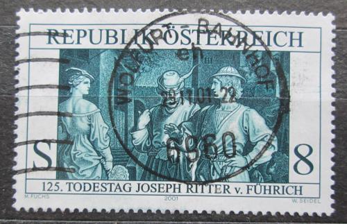 Poštovní známka Rakousko 2001 Joseph Ritter von Führich, malíø Mi# 2354