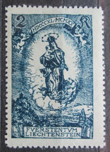 Poštovní známka Lichtenštejnsko 1920 Panna Marie Mi# 42