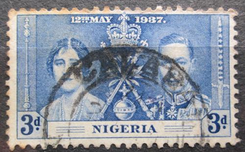 Poštovní známka Nigérie 1937 Královský pár Mi# 45