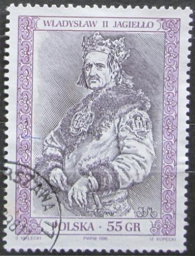 Poštovní známka Polsko 1996 Král Vladislav II. Jagellonský Mi# 3615