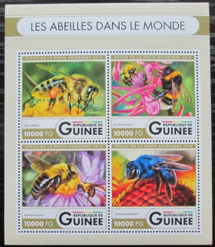 Poštovní známky Guinea 2016 Vèely Mi# 11931-34 Kat 16€