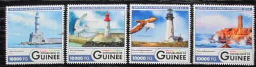 Poštovní známky Guinea 2016 Majáky Mi# 11951-54 Kat 16€