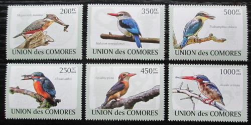 Poštovní známky Komory 2009 Ledòáèci Mi# 2184-89 Kat 14€