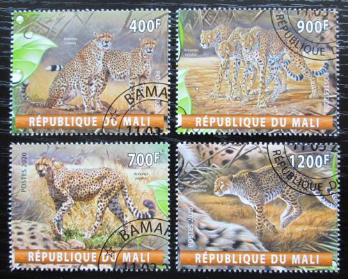 Poštovní známky Mali 2020 Gepardi Mi# N/N