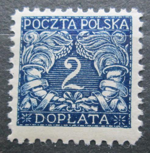 Poštovní známka Polsko 1919 Doplatní Mi# 13