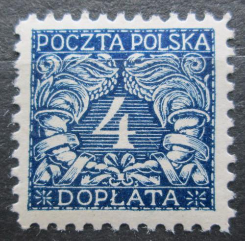 Poštovní známka Polsko 1919 Doplatní Mi# 14