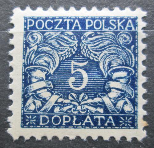 Poštovní známka Polsko 1919 Doplatní Mi# 15