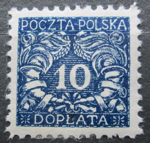 Poštovní známka Polsko 1919 Doplatní Mi# 16