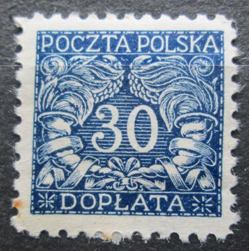 Poštovní známka Polsko 1919 Doplatní Mi# 18