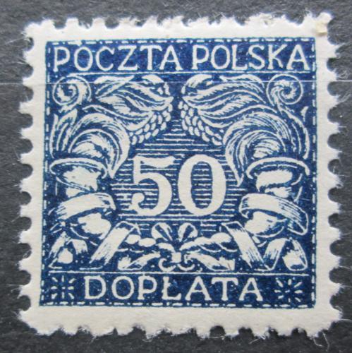 Poštovní známka Polsko 1919 Doplatní Mi# 19
