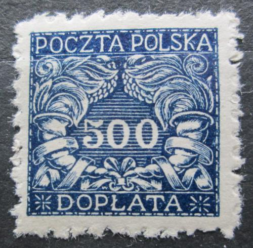 Poštovní známka Polsko 1919 Doplatní Mi# 21 x