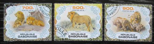 Poštovní známky Gabon 2019 Lvi Mi# N/N