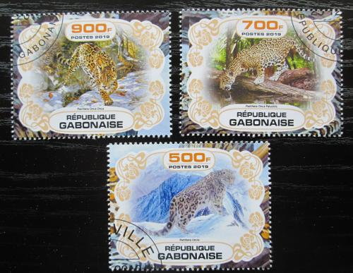 Poštovní známky Gabon 2019 Levharti Mi# N/N