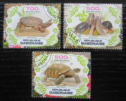 Poštovní známky Gabon 2019 Želvy Mi# N/N