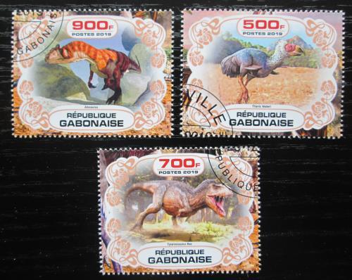 Poštovní známky Gabon 2019 Dinosauøi Mi# N/N