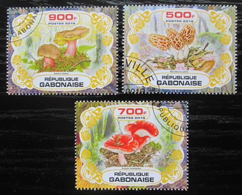 Poštovní známky Gabon 2019 Houby Mi# N/N