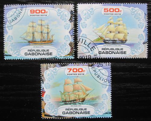 Poštovní známky Gabon 2019 Plachetnice Mi# N/N