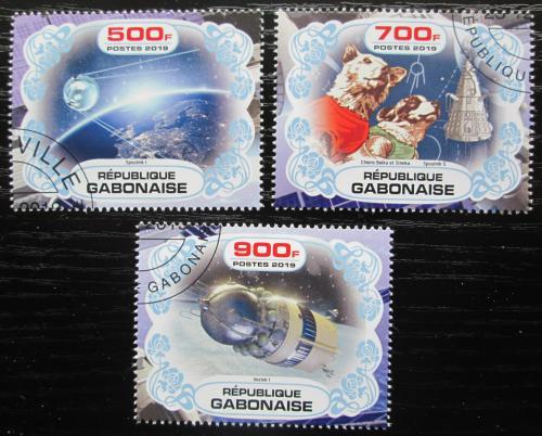 Poštovní známky Gabon 2019 Prùzkum vesmíru Mi# N/N