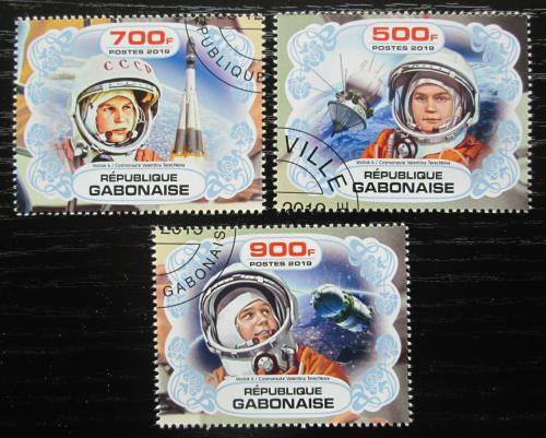 Poštovní známky Gabon 2019 Prùzkum vesmíru, Valentina Tìreškovová Mi# N/N