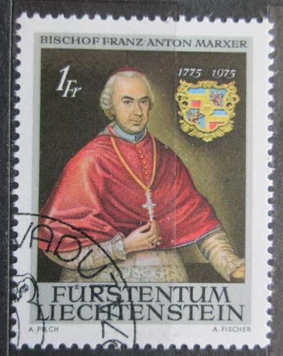 Poštovní známka Lichtenštejnsko 1974 Biskup Franz Anton Marxer Mi# 613