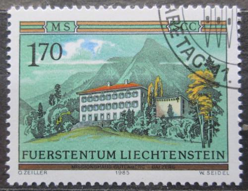 Poštovní známka Lichtenštejnsko 1985 Klášter Gutenberg Mi# 870