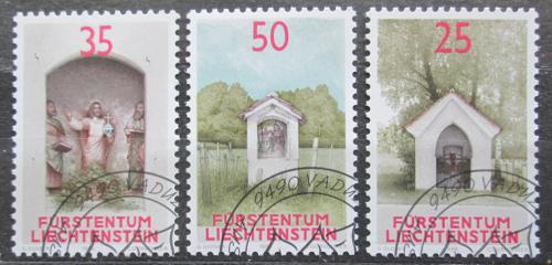Poštovní známky Lichtenštejnsko 1988 Svatynì Mi# 951-53