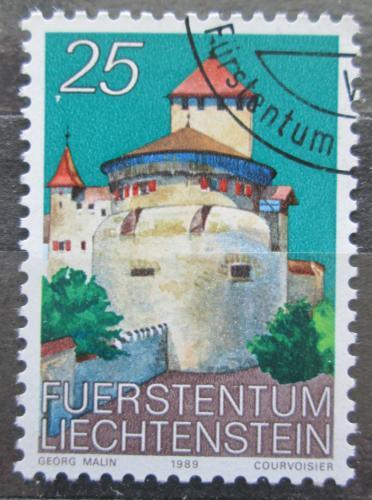 Poštovní známka Lichtenštejnsko 1989 Zámek Vaduz Mi# 962