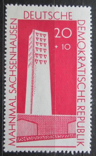 Poštovní známka DDR 1960 Památník Sachsenhausen Mi# 783 a