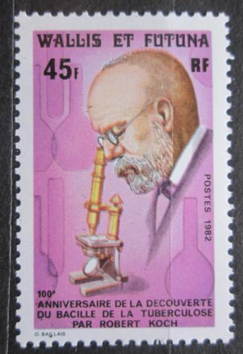 Poštovní známka Wallis a Futuna 1982 Robert Koch Mi# 409