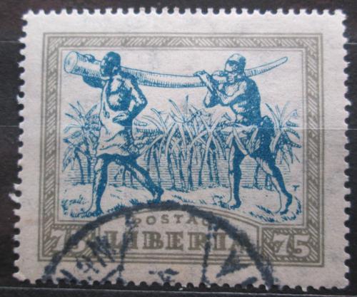 Poštovní známka Libérie 1923 Nosièi klù Mi# 242