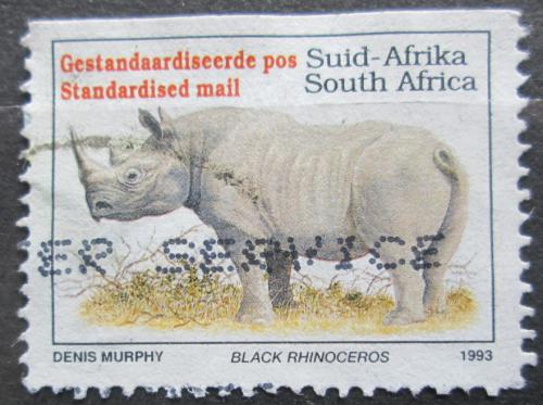 Poštovní známka JAR 1995 Nosorožec dvourohý Mi# 896 ID