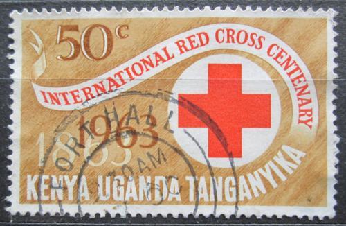 Poštovní známka K-U-T 1963 Èervený køíž, 100. výroèí Mi# 131