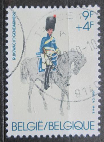 Poštovní známka Belgie 1981 Vojenská uniforma Mi# 2083