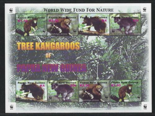 Poštovní známky 2003 Klokani, WWF 328 Mi# 1021-24 Bogen Kat 16€