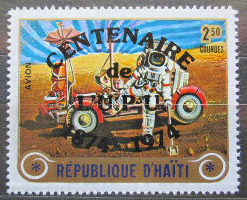 Poštovní známka Haiti 1974 UPU, 100. výroèí pøetisk Mi# N/N
